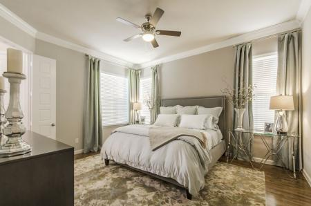 Elegant Bedroom | Apartments For Rent Pflugerville Tx | The Mansions at Stone Hill