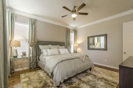 Luxurious Bedroom | Pflugerville Apartments | The Mansions at Stone Hill