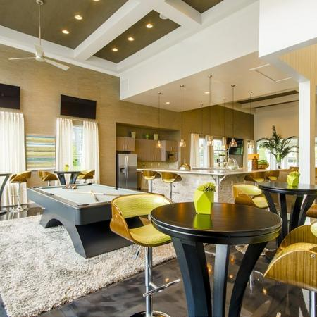 Resident Billiards Table | Conroe TX Apartments | The Towers Woodland
