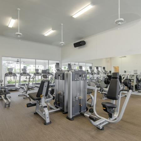 State-of-the-Art Fitness Center | Conroe Apartments | The Towers Woodland