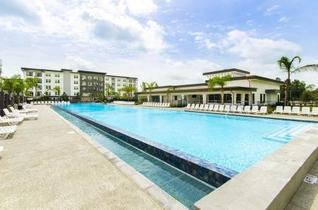 Heated Pool | Conroe TX Apartments | The Towers Woodland