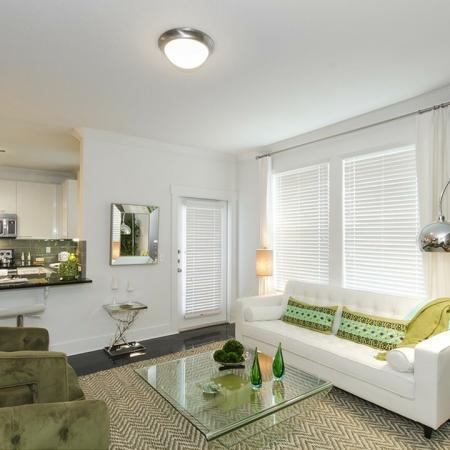 Elegant Living Room | Apartments Conroe TX | The Towers Woodland