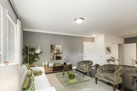Luxurious Living Room | Conroe Apartments | The Towers Woodland