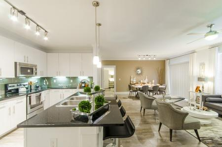 Elegant Living Area | Conroe TX Apartments | The Towers Woodland