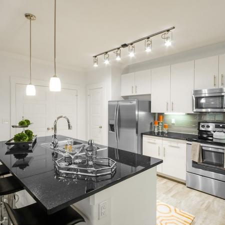 Luxurious Kitchen | Conroe Apartments | The Towers Woodland