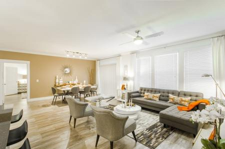Luxurious Living Area | Apartments For Rent In Conroe TX | The Towers Woodland