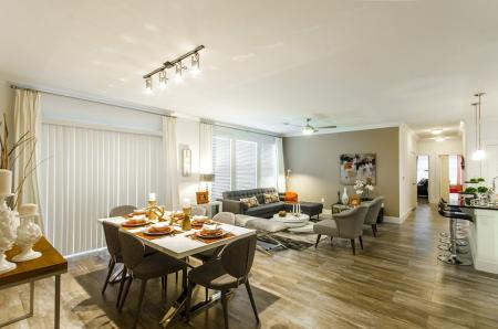 Elegant Dining Room | Apartments In Conroe Texas | The Towers Woodland
