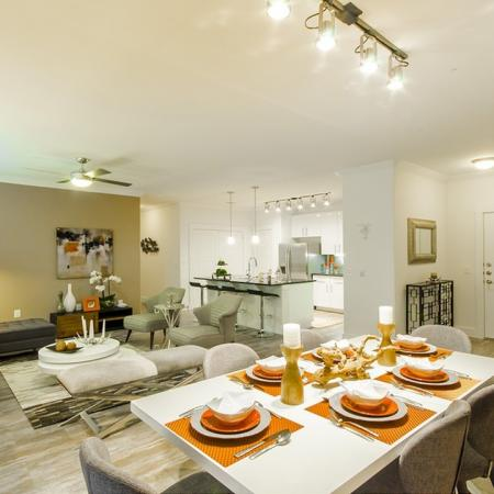 Luxurious Dining Room | Apartments Conroe | The Towers Woodland