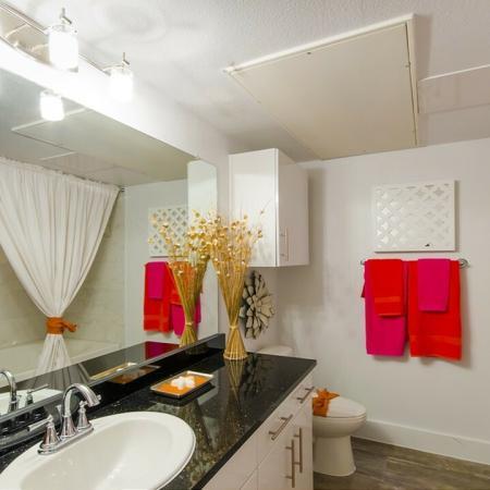 Elegant Bathroom | Apartments In Conroe TX | The Towers Woodland