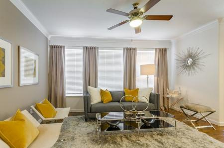 Spacious Living Room | Luxury Apartments In Austin Texas | The Mansions at Lakeway