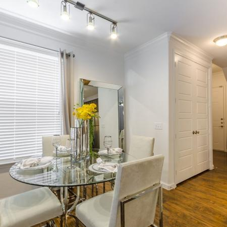 Spacious Dining Room | One Bedroom Apartments Austin | The Mansions at Lakeway