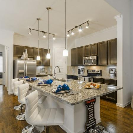 Cook in the Kitchen | Austin TX Apartments | The Mansions at Lakeway