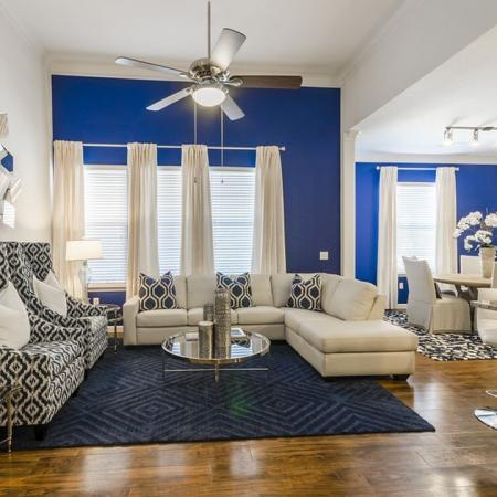 Luxurious Living Room | Apartments In Austin TX | The Mansions at Lakeway
