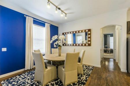 Elegant Dining Room | Apartments Austin TX | The Mansions at Lakeway