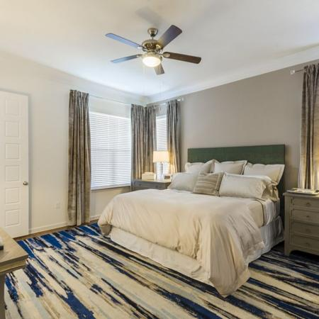 Spacious Master Bedroom | Austin TX Apartments | The Mansions at Lakeway
