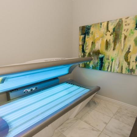 Tanning Bed | The Mansions on the Park