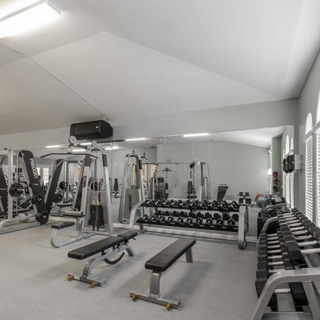 Weight Room | The Mansions on the Park