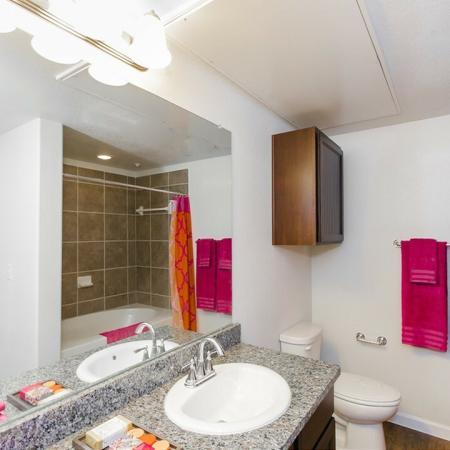Spacious Bathroom   Apartments Near Magnolia TX   The Grand Estates Woodland