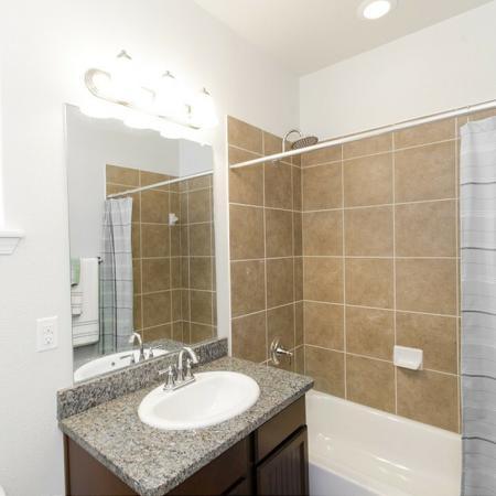 Ornate Bathroom   Magnolia Apartments   The Grand Estates Woodland