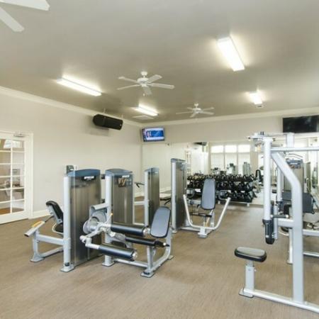 Cutting Edge Fitness Center   Apartments Magnolia TX   The Grand Estates Woodland