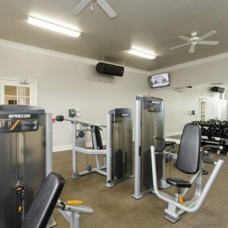 Resident Fitness Center   Apartments For Rent In Magnolia TX   The Grand Estates Woodland