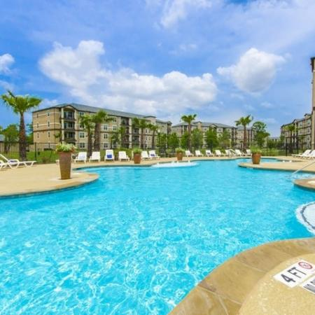 Sparkling Pool | Apartments In Magnolia TX | The Grand Estates Woodland