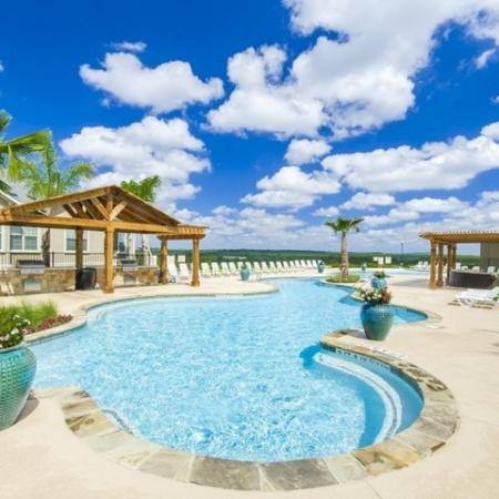 Sparkling Pool | 2 Bedroom Apartments In San Antonio | The Mansions at Briggs Ranch