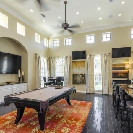 Resident Game Room | Luxury Apartments In San Antonio | The Mansions at Briggs Ranch