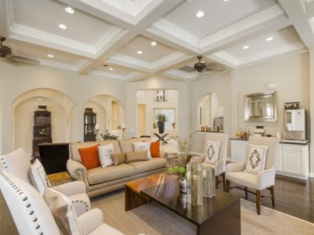Spacious Resident Club House   Luxury Apartments In San Antonio Texas   The Mansions at Briggs Ranch