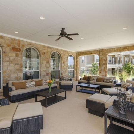 Outdoor Lounge 2 | The Mansions at Briggs Ranch