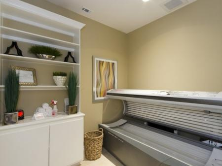 Resident Tanning Bed   Luxury Apartments In San Antonio   The Mansions at Briggs Ranch