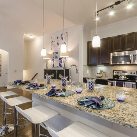 State-of-the-Art Kitchen | Little Elm Luxury Apartments | The Mansions 3Eighty