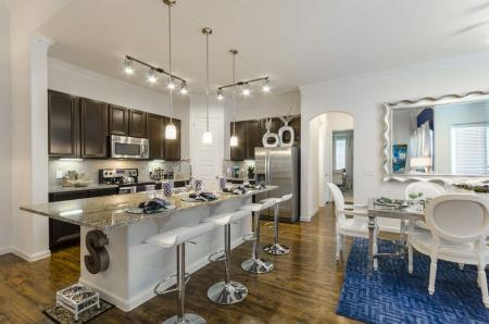 Spacious Dining Room | Little Elm Apartments | The Mansions 3Eighty