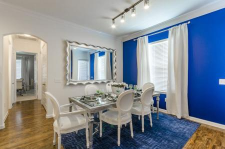 Luxurious Dining Room | Aubrey Apartments | The Mansions 3Eighty