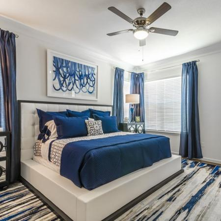Spacious Master Bedroom | Little Elm TX Apartments | The Mansions 3Eighty