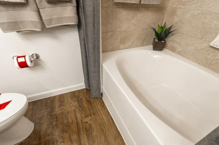 Elegant Bathroom | Apartments In Little Elm TX | The Mansions 3Eighty