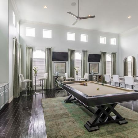 Resident Billiards Table | Frisco Apartments | The Mansions 3Eighty