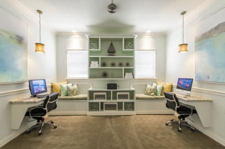 Resident Business Center | Luxury Apartments In Aubrey TX | The Mansions 3Eighty