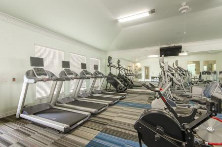 State-of-the-Art Fitness Center | Apartments In Aubrey TX | The Mansions 3Eighty