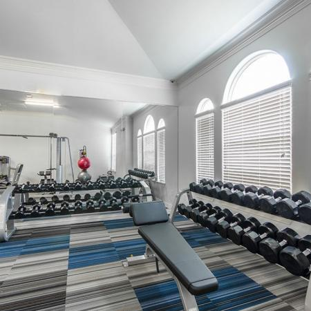 Cutting Edge Fitness Center | Little Elm TX Apartments | The Mansions 3Eighty
