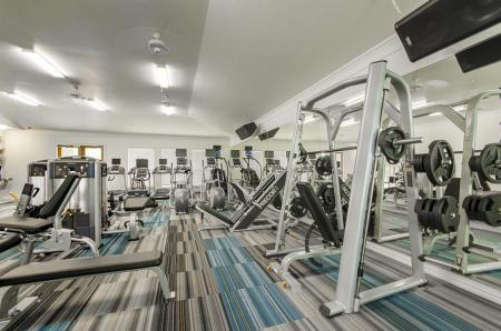 Resident Fitness Center | Frisco Apartments | The Mansions 3Eighty
