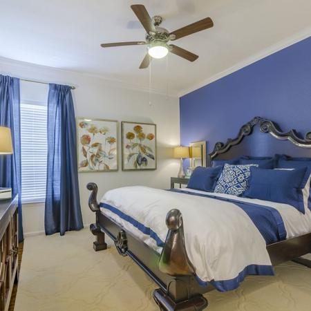 Elegant Bedroom | Apartments In Wylie Texas | The Mansions at Wylie01