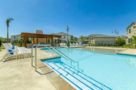 Resort Style Pool | Pflugerville Apartments | The Mansions at Stone Hill 1