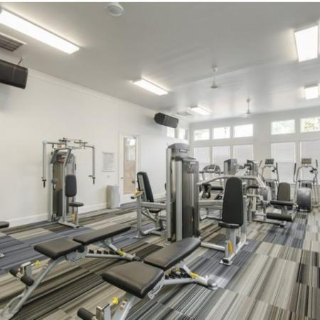 State-of-the-Art Fitness Center | Conroe Apartments | The Grand Estates in the Forest