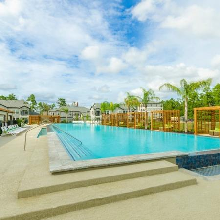 Swimming Pool   Apartments For Rent Conroe TX   The Mansions Woodland