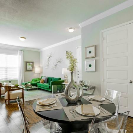 Elegant Dining Room   Conroe Texas Apartments   The Mansions Woodland