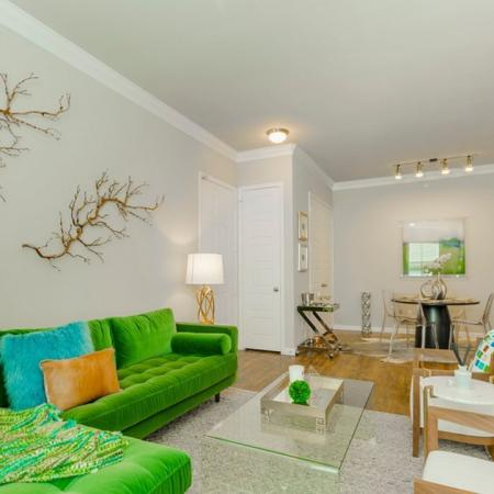 Luxurious Living Area | Apartments The Woodland TX | The Mansions Woodland