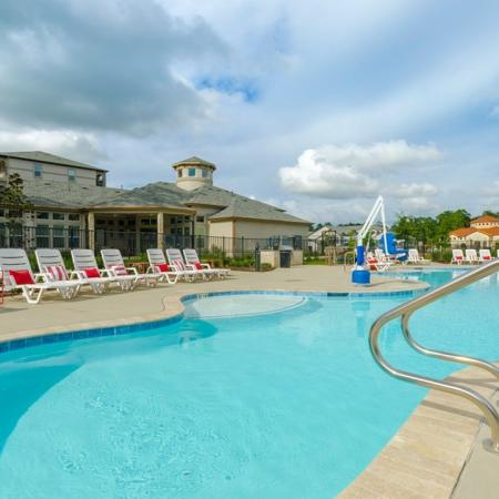 Swimming Pool | Conroe Apartments | The Grand Estates in the Forest