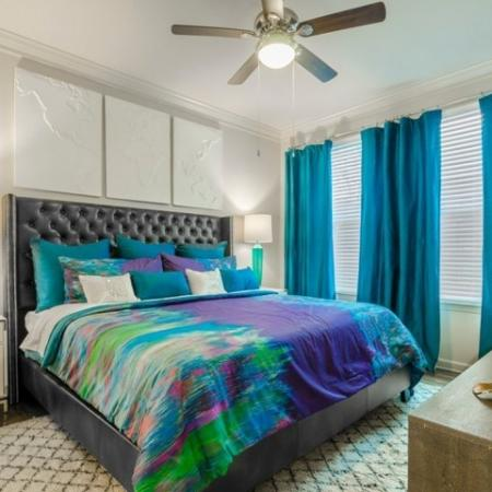Vast Bedroom | Luxury Apartments McKinney TX | The Mansions McKinney