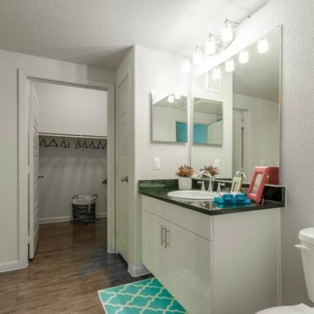 Spacious Bathroom | McKinney Apartments | The Mansions McKinney 3
